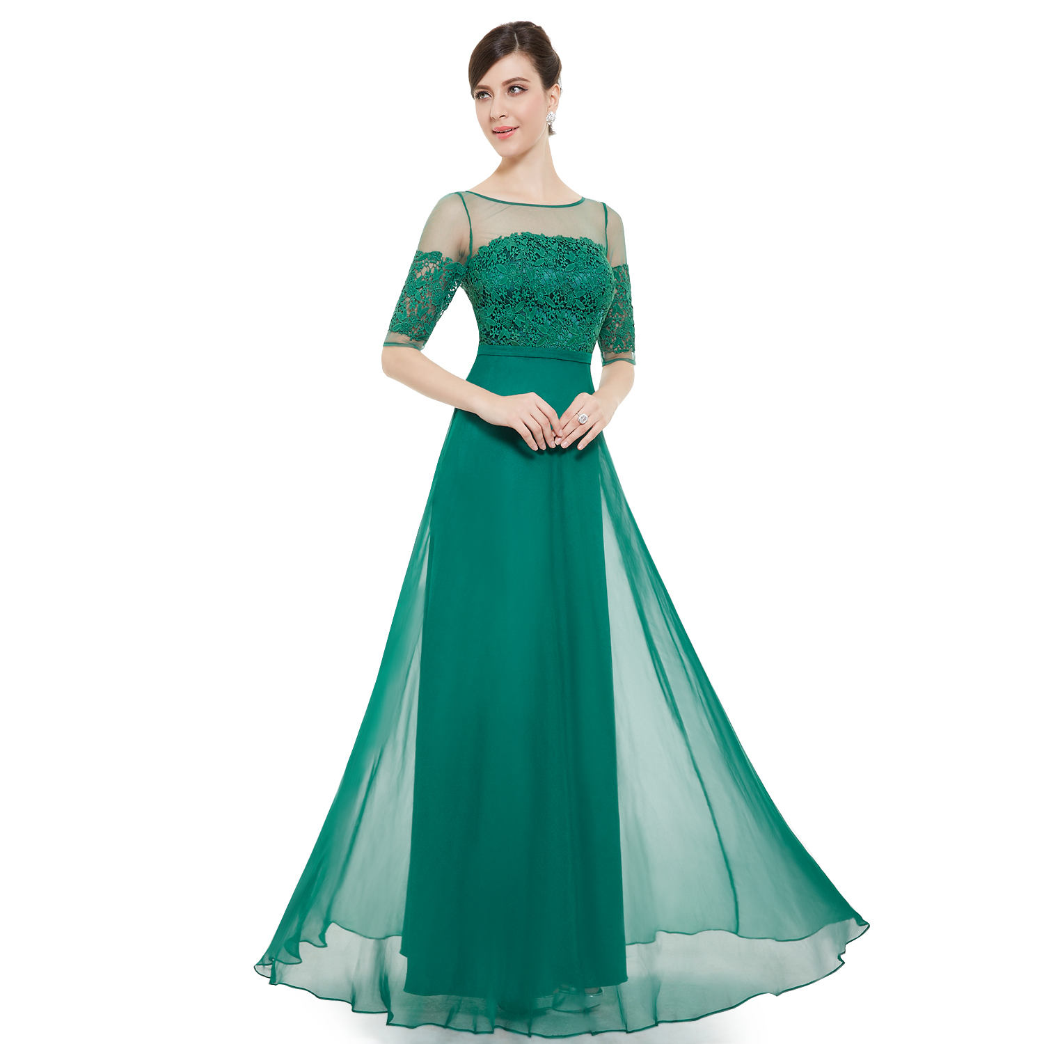 Long Evening Prom Ball Gown Party Formal Dresses 08459 Size 4 Ever ...