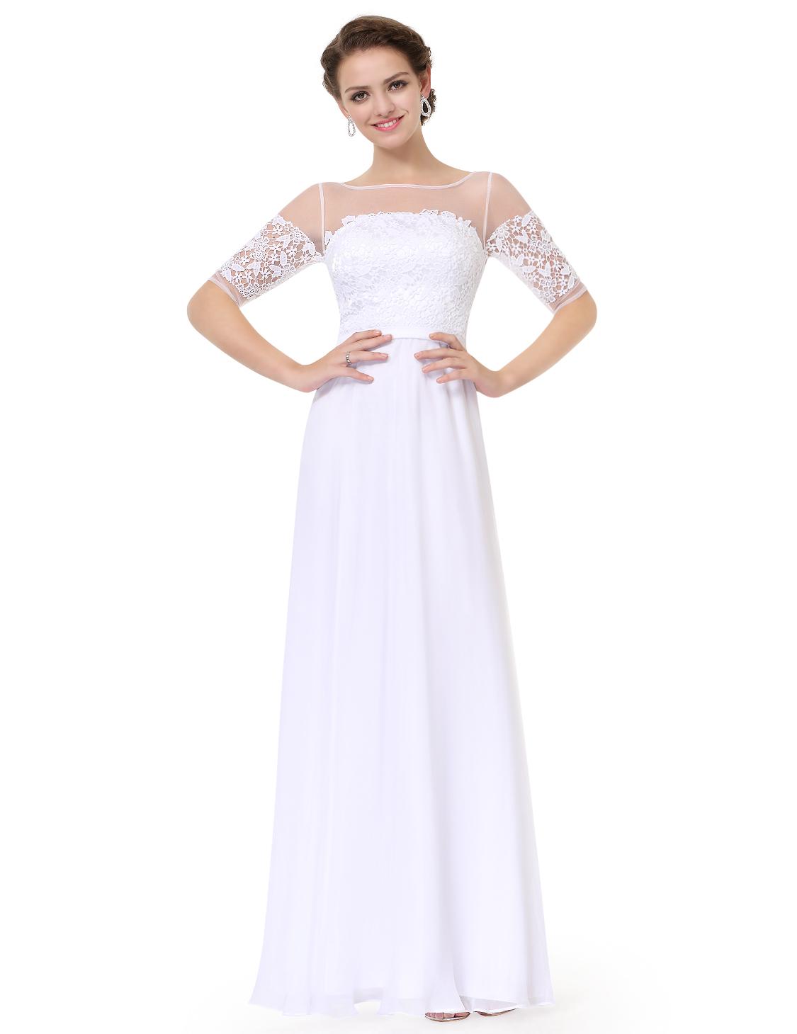 Womens short sleeve bridesmaid dresses formal evening gown 08459 womens short sleeve bridesmaid dresses formal evening gown ombrellifo Gallery