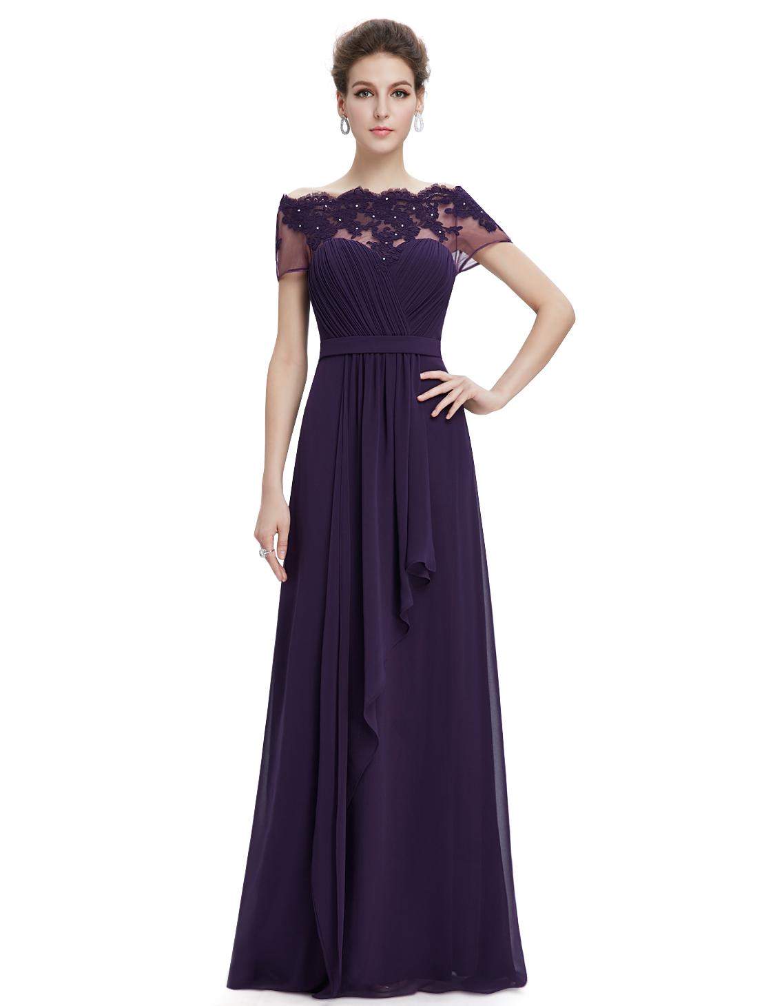 Women's Elegant Long Bridesmaid Dresses Formal Evening ...