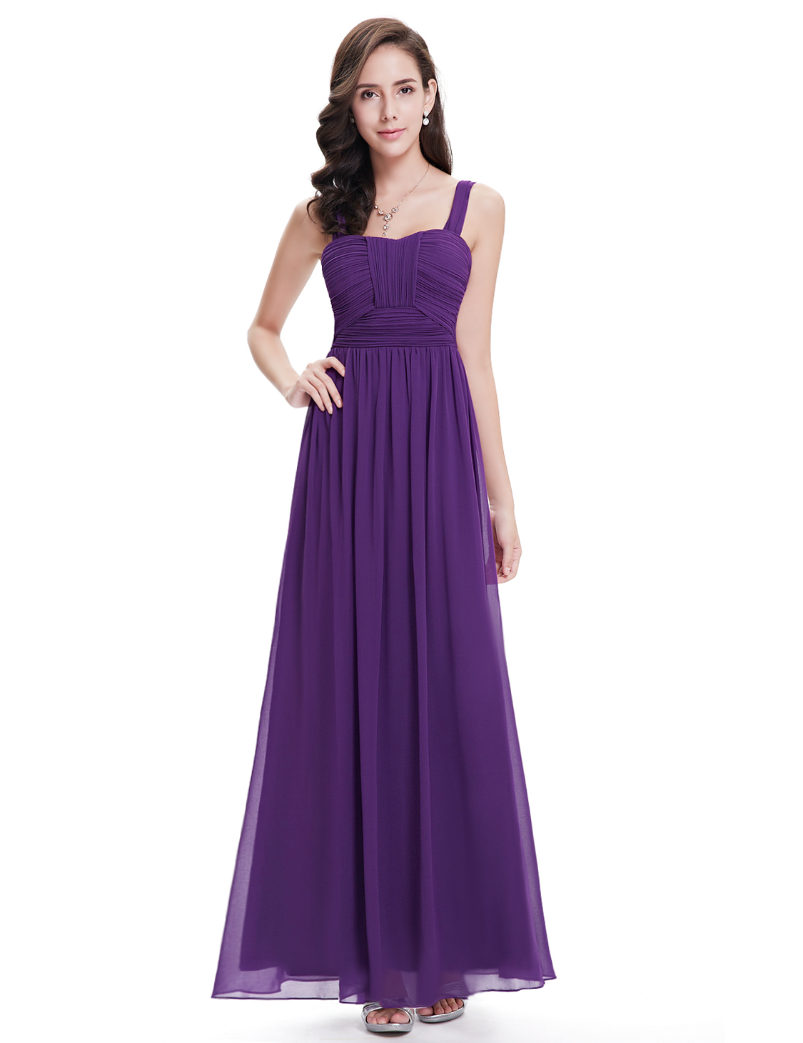 Long purple bridesmaid party prom formal dress for women for 34 wedding dresses that should have never existed