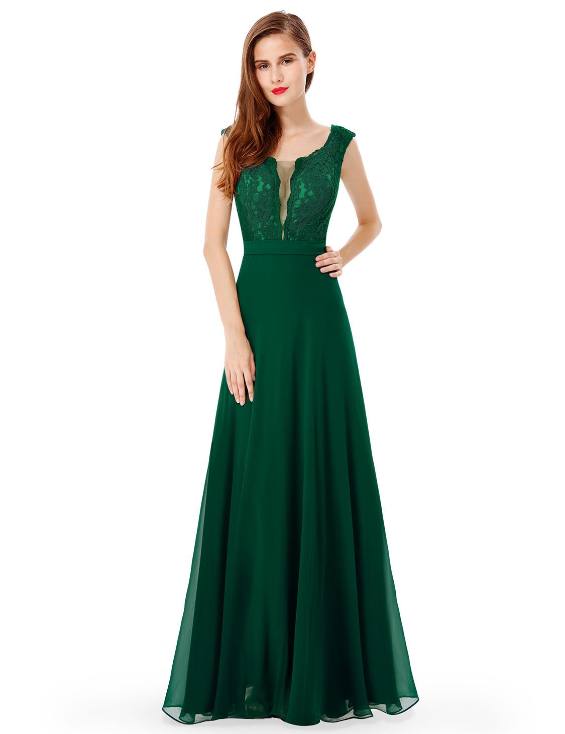 UK Long Elegant Formal Evening Party Dress Cocktail Prom ...