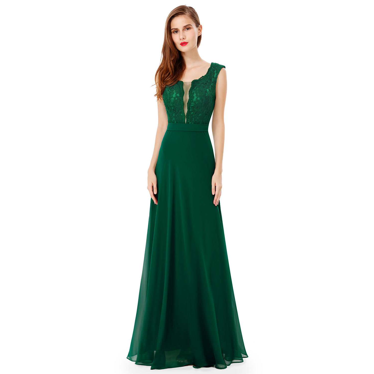 Ever pretty maxi long bridesmaid party formal ball gowns for Maxi dresses for wedding party