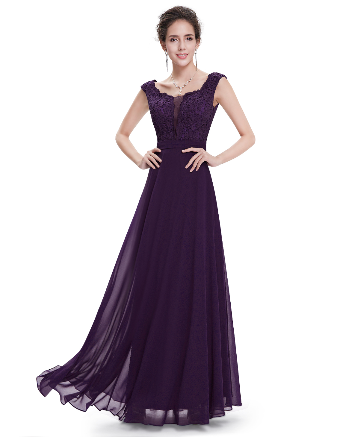 UK Long Elegant Formal Evening Party Dress Cocktail Prom ...