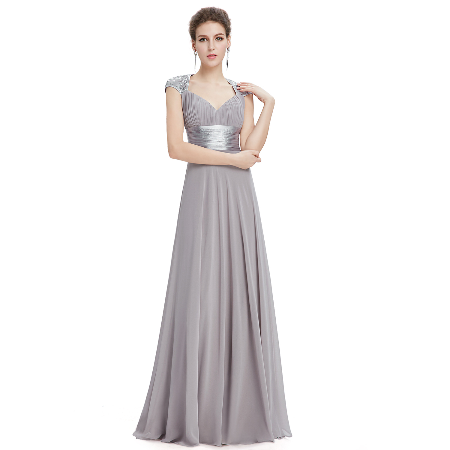 Ever pretty long prom dress bridesmaid wedding evening for Pretty ball gown wedding dresses