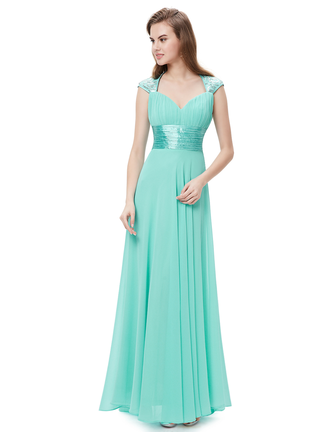 Ever-Pretty Long Maxi Chiffon Bridesmaid Dresses Formal Evening Prom ...
