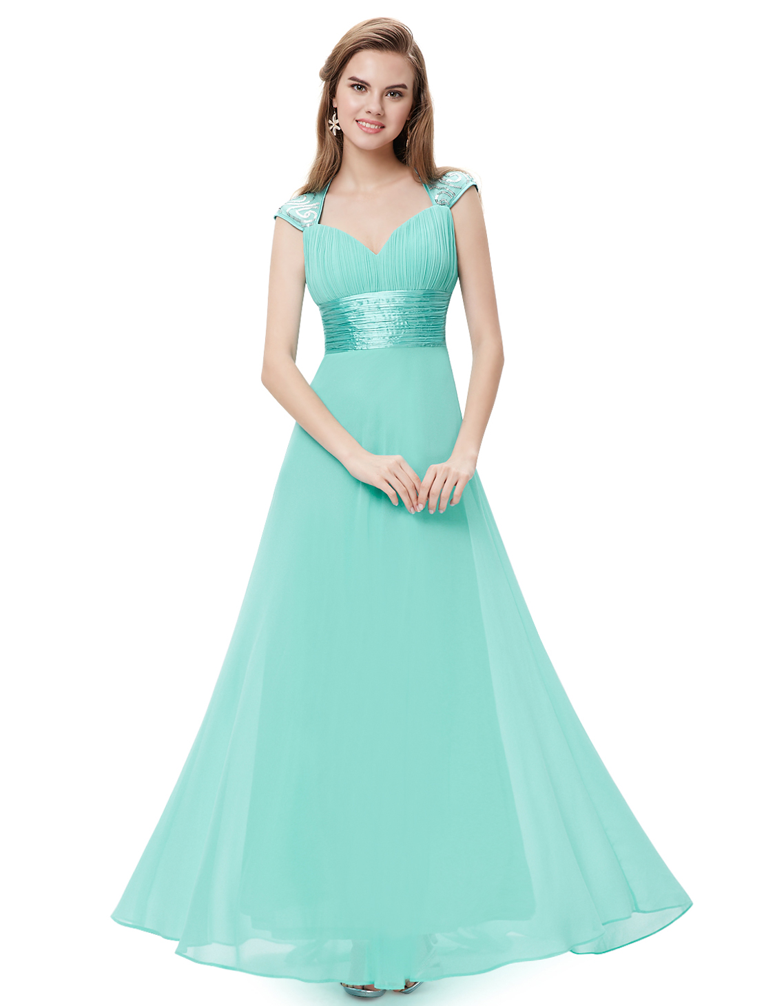 US Hot Long Bridesmaid Party Dresses Formal Evening Prom Gown 09672 ...
