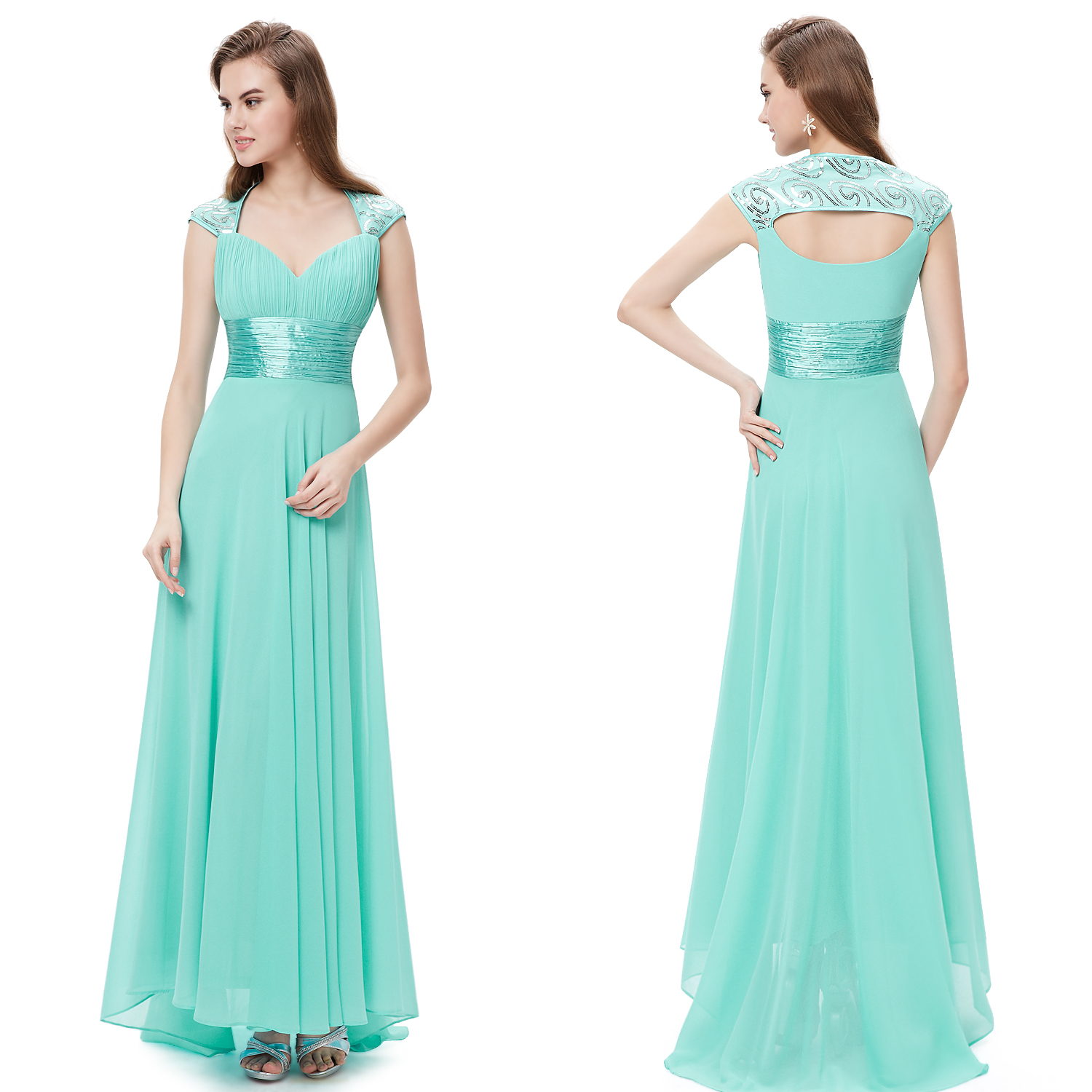 US Holiday Long Dresses Ladies Summer Beach Cocktail Wedding 09672 ...