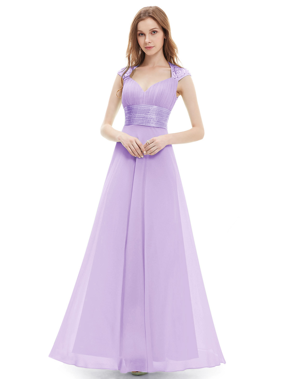 Long Chiffon Wedding Bridesmaid Dress Formal Party Prom Gowns Ever ...