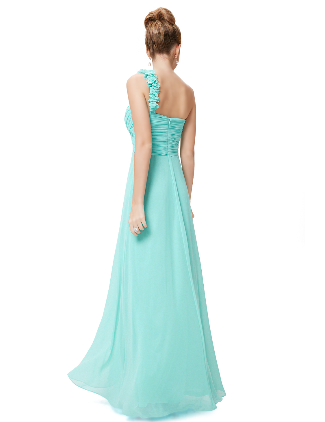 Women\'s One-shoulder Bridesmaid Party Dresses Formal Evening Party ...