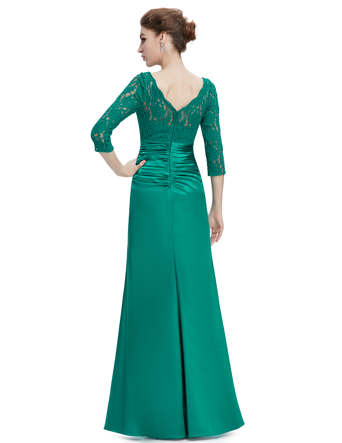 Women\'s Elegant Lace Half-sleeve Formal Evening Party Dresses 09882 ...