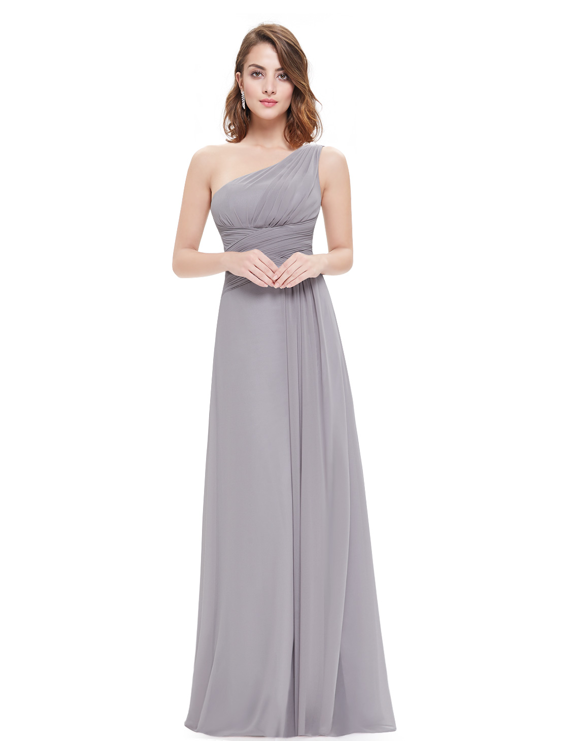 One shoulder bridesmaid dress mother of bride wedding for Wedding dresses for mother of bride