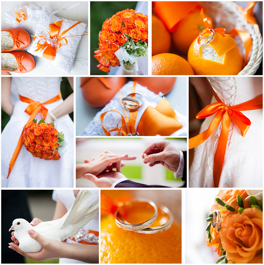 orange-themed-wedding